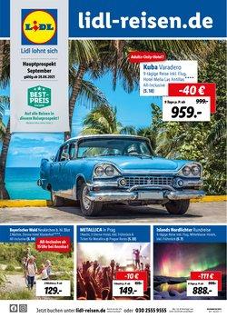 Angebote von Reisen im Lidl Reisen Prospekt ( 14 Tage übrig)