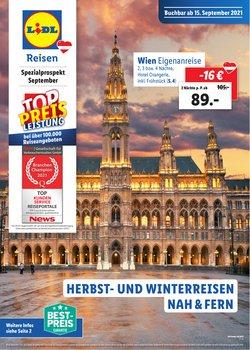 Angebote von Reisen im Lidl Reisen Prospekt ( 21 Tage übrig)