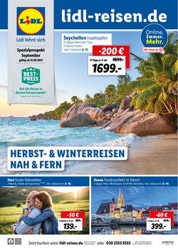 Angebote von Reisen im Lidl Reisen Prospekt ( 28 Tage übrig)