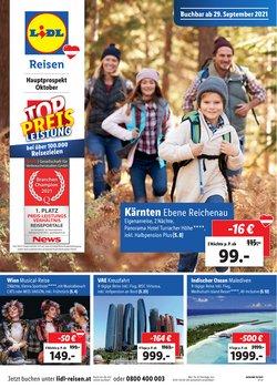 Angebote von Reisen im Lidl Reisen Prospekt ( 13 Tage übrig)