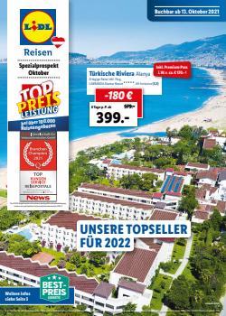 Angebote von Reisen im Lidl Reisen Prospekt ( 25 Tage übrig)