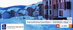 Angebote von Hofer Reisen im Wien Prospekt