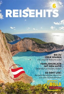 Angebote von Reisen im Billa Reisen Prospekt ( 9 Tage übrig)