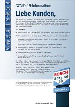 Angebote von Auto, Motorrad & Zubehör im Bosch Car Service Prospekt in Wien ( 6 Tage übrig )