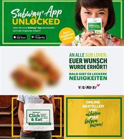Angebote von Restaurants im Subway Prospekt in Wels ( 22 Tage übrig )