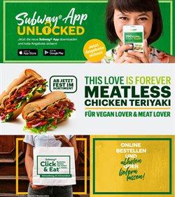 Angebote von Restaurants im Subway Prospekt ( 15 Tage übrig )