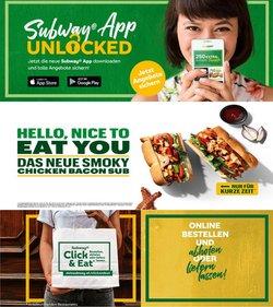 Angebote von Restaurants im Subway Prospekt ( 7 Tage übrig)
