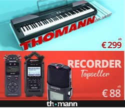 Angebote von Elektronik im Thomann Prospekt in Wels ( Vor 3 Tagen )
