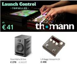 Angebote von Elektronik im Thomann Prospekt ( Läuft morgen ab)