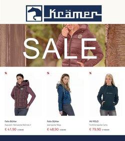 Angebote von Krämer Pferdesport im Krämer Pferdesport Prospekt ( Gestern veröffentlicht)