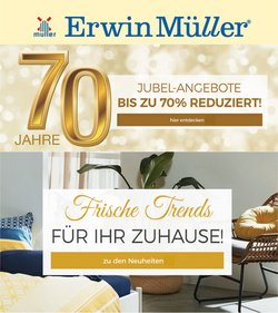 Angebote von Erwin Müller im Erwin Müller Prospekt ( Mehr als 30 Tage)