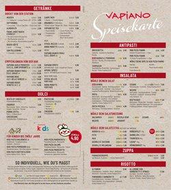Angebote von Restaurants im Vapiano Prospekt ( 8 Tage übrig)