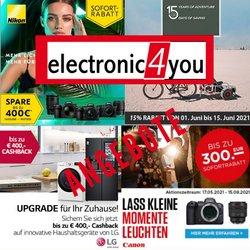 Angebote von Elektronik im electronic4you Prospekt ( 7 Tage übrig)