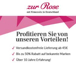 Zur Rose Gutschein ( Mehr als 30 Tage )