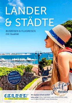 Gruber Reisen Katalog ( Mehr als 30 Tage )