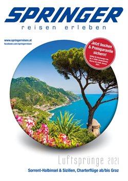 Angebote von Reisen im Springer Reisen Prospekt in Wels ( 12 Tage übrig )