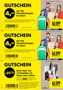 Angebote von Drogerien & Parfümerien im Klipp Frisör Prospekt ( Mehr als 30 Tage)