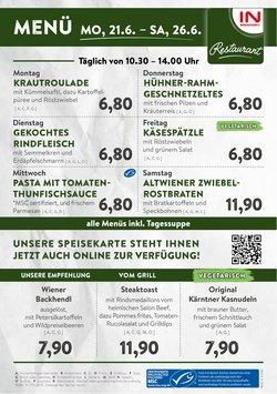 Angebote von Restaurants im Interspar Restaurant Prospekt ( 4 Tage übrig)