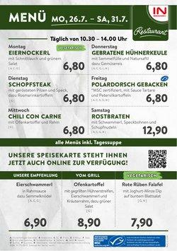 Angebote von Interspar Restaurant im Interspar Restaurant Prospekt ( 3 Tage übrig)