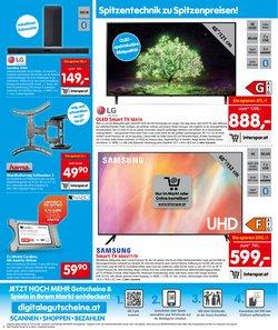 Angebote von Samsung im Interspar Restaurant Prospekt ( Läuft heute ab)