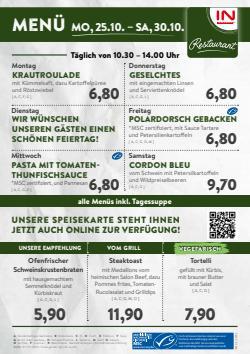 Angebote von Restaurants im Interspar Restaurant Prospekt ( Gestern veröffentlicht)