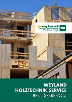 weyland Katalog ( 11 Tage übrig )