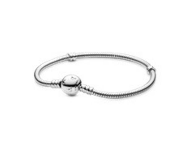 Disney, Moments Sparkling Mickey Mouse & Snake Chain Armband für 79€