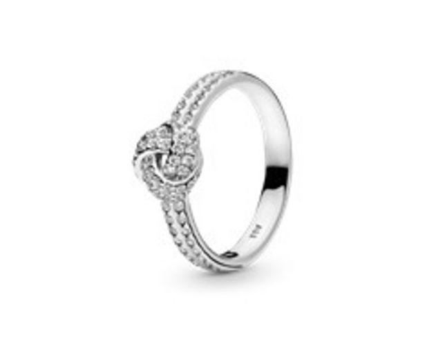Schimmernder Knoten Ring für 69€