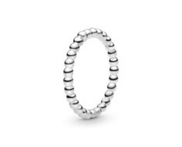 Metallperlen Ring für 29€