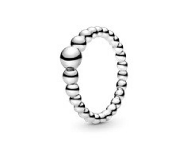 Metallperlen Ring für 39€