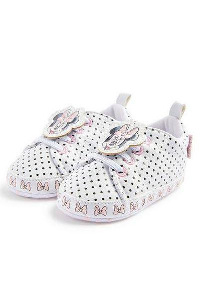 """Weiße """"Disney Minnie Maus"""" High-Top-Sneaker für Babys (M) für 6,5€"""