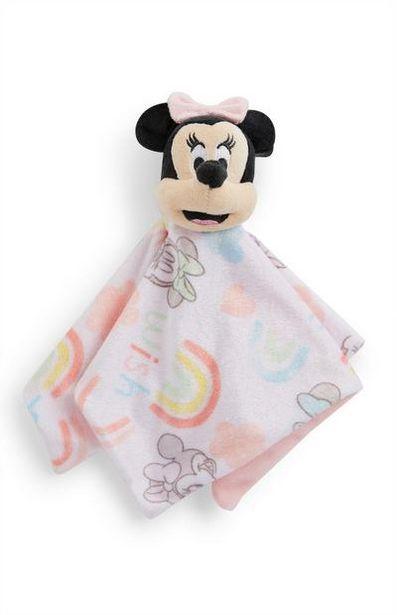 """Rosa """"Disney Minnie Maus"""" Schmusetuch für Babys für 5€"""