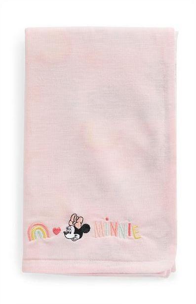 """Rosa """"Disney Minnie Maus"""" Babydecke für 8€"""