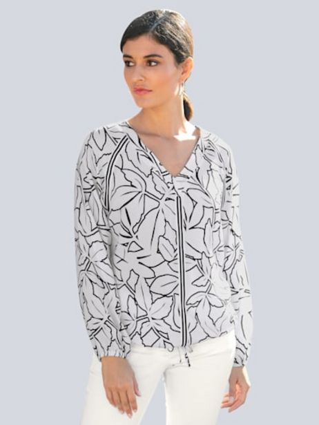 Bluse im floralem Muster allover für 39,95€