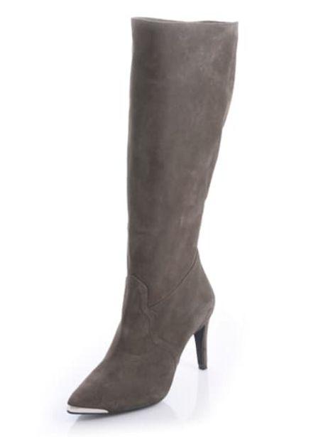 Stiefel mit metallischer Spitze für 99,95€