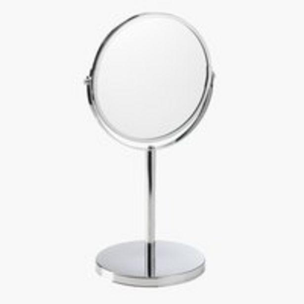 Doppelseitiger Spiegel MEDLE H35cm Stahl für 7€