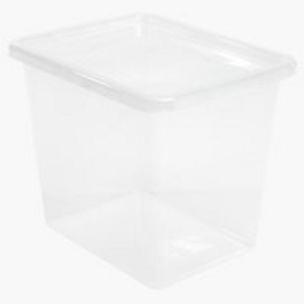 Aufbewahrungsbox BASIC BOX 31L m/Deckel für 6,5€
