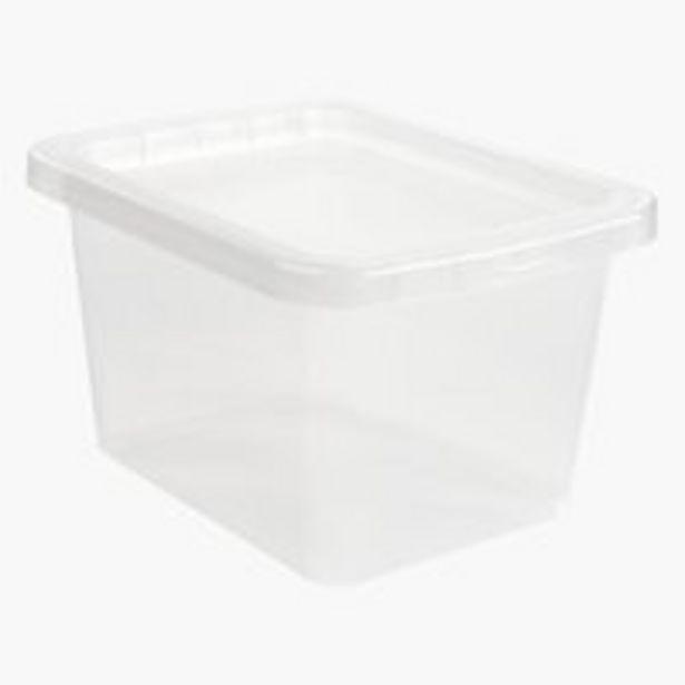 Aufbewahrungsbox BASIC BOX 9L m/Deckel für 3,5€