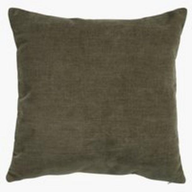 Kissen HORNFIOL Chenille 45x45 grün für 14,99€