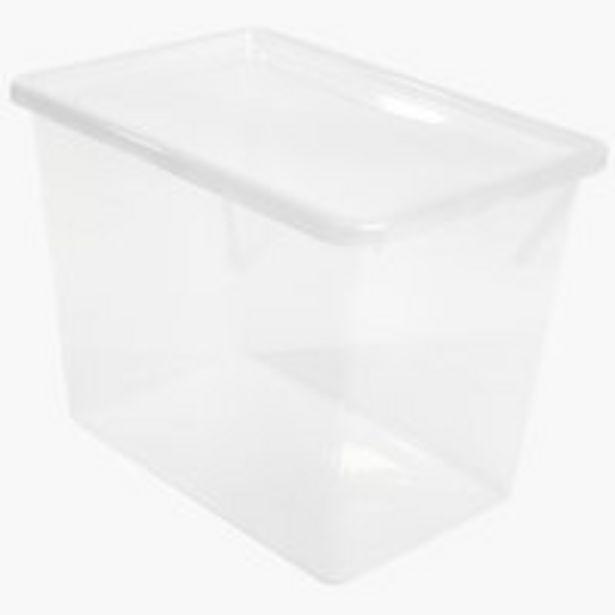 Aufbewahrungsbox BASIC BOX 80L m/Deckel für 11,5€