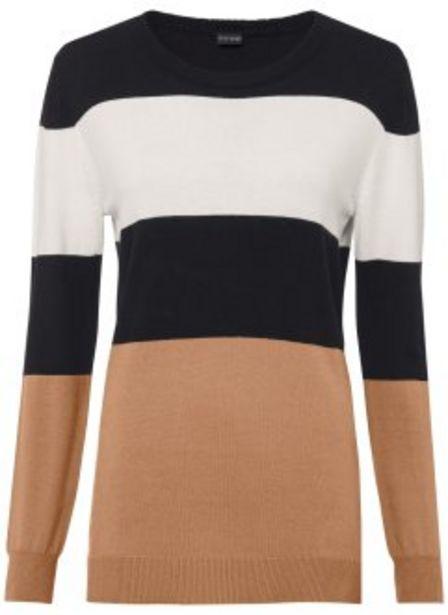Gestreifter Pullover für 19,99€