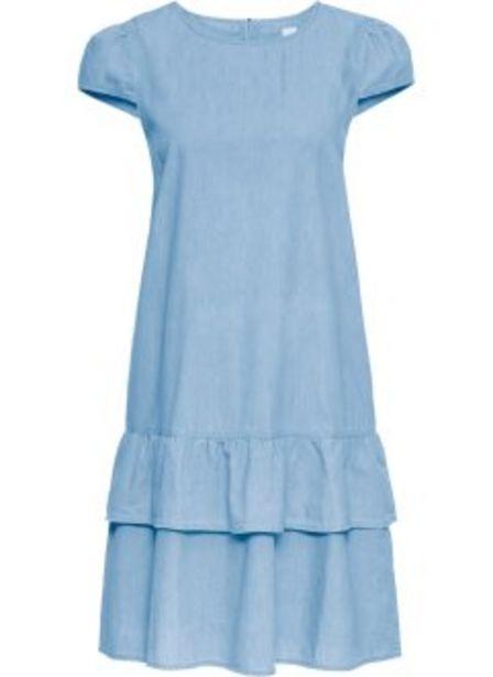 Jeanskleid mit Volant für 11,99€
