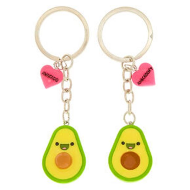 Best Friends Avocado Keychains - 2 Pack für 2,7€