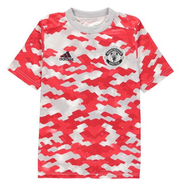 Adidas Manchester United Pre Match Shirt 2021 2022 Junior für 33,59€