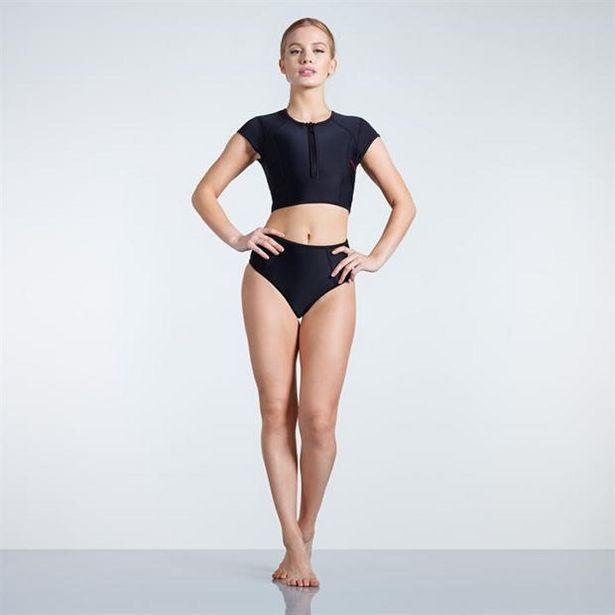Slazenger Zip Short Sleeve Bikini Ladies für 13,2€
