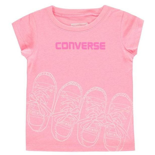 Converse Trainers T-Shirt Baby Girls für 3,6€