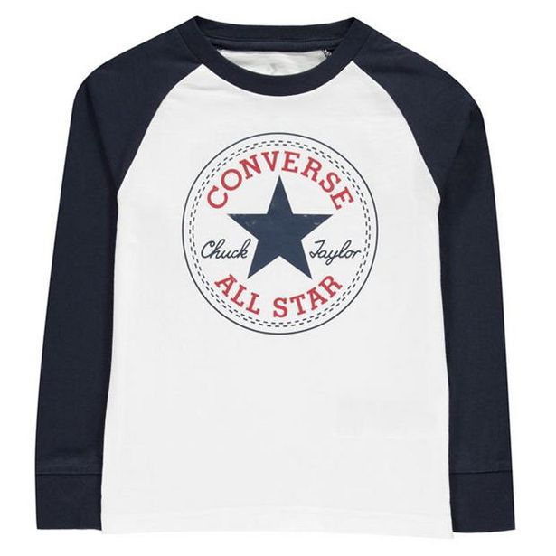 Converse Chuck Long Sleeve T-Shirt Boys für 11,99€