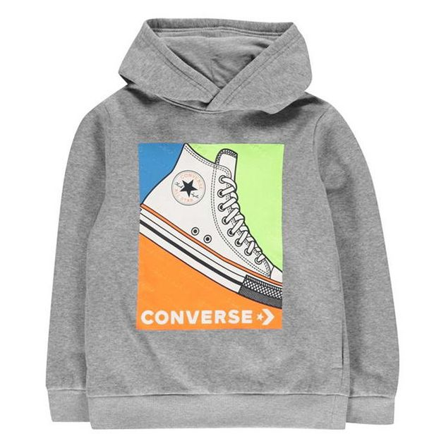 Converse Sneaker Over The head Hoodie Junior Boys für 11,99€