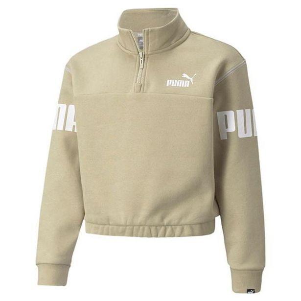 Puma Power Quarter Zip Sweater Junior Girls für 30€