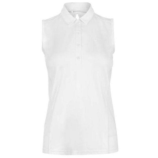 Slazenger Damen Poloshirt aermellos für 11,99€